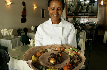 Ethiopian Food in Ethiopia