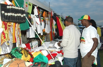 Gosaye at the Ethiopian soccer tournament 2012 Dallas ...