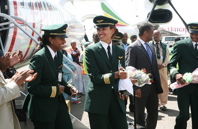 Ethiopian Airlines Appoints First Female Captain at Tadias