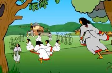 ethiopians celebrate christmas melkam genna animation video - When Is Ethiopian Christmas