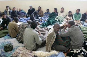 Africans in libya