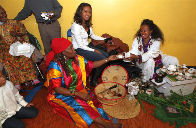 Dc Wamu Radio On 9th And U Plus Ethiopia Display At Chevy