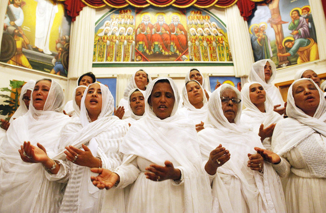 Ethiopian Orthodox Church Celebrates Easter Ethiopian