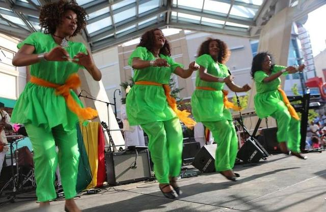 The Second Annual Ethiopian Festival in Silver Spring, Maryland took place ...