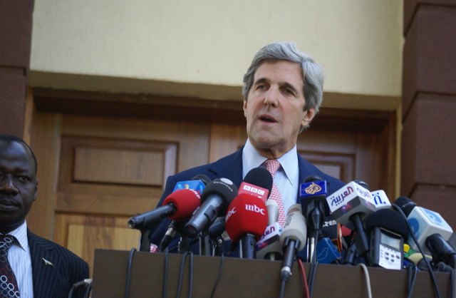 Kerry in Ethiopia for Security Talks African Union 50th Anniversary