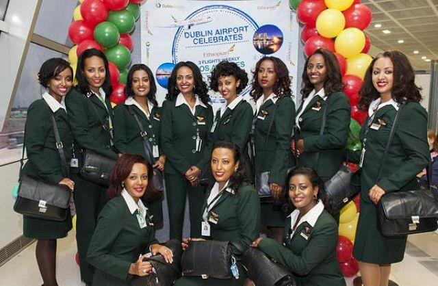 Photos: Ethiopian Airlines Inaugurates Flight Connecting Addis, LA, Dublin