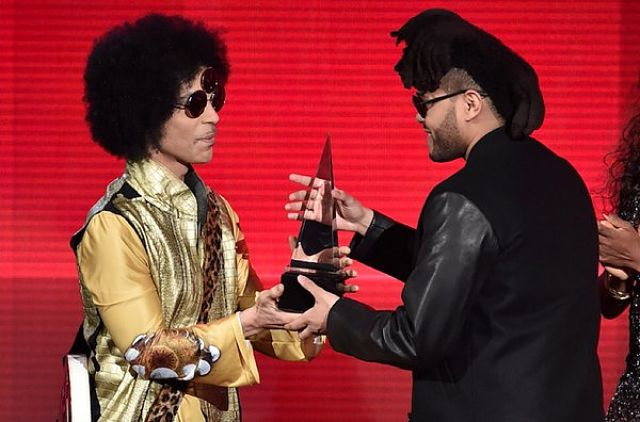 The Weeknd First Winner at 2015 American Music Awards at Tadias Magazine