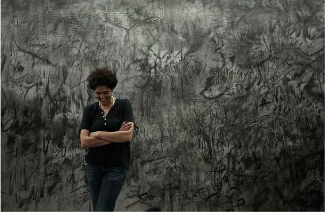 Julie Mehretu: The Addis Show at Modern Art Museum Gebre Kristos Desta Center
