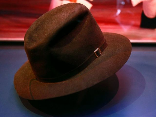 1416c967764 Michael Jackson s fedora is one of the items on display in a new exhibit  about how the Apollo Theater shaped American entertainment