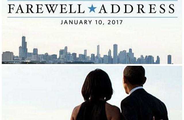 Image result for President Obama's Farewell to Americans From Hometown Chicago