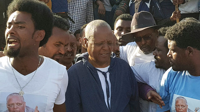 """If the government means what it says, then it has a chance to write a new  chapter in Ethiopian history,"" says Merera Gudina [who was freed last week  along ..."