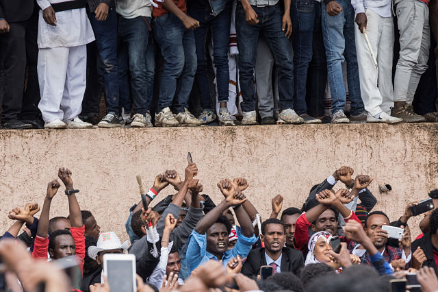 U.S. 'disagrees' with Ethiopia's state of emergency to curb unrest