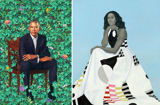 Kehinde Wiley, Barack Obama's portrait artist, painted black girls beheading white girls