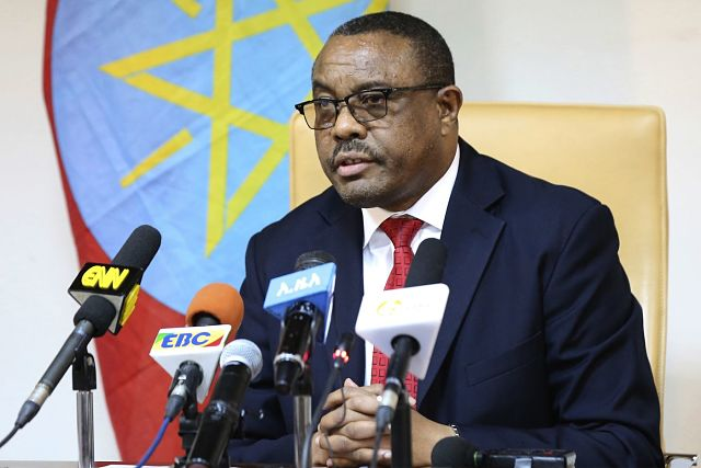State of emergency in Ethiopia as country's prime minister resigns