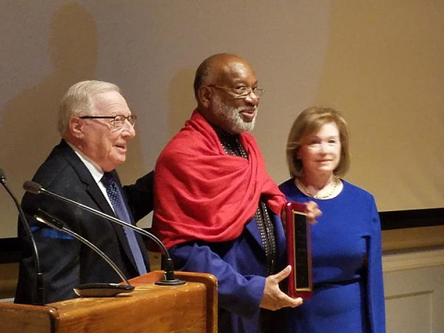 69181910a86 Chester Higgins honored by Ethiopian School Readiness Initiative on Monday,  April 29th, 2019 in New York.(Courtesy photo/Facebook)